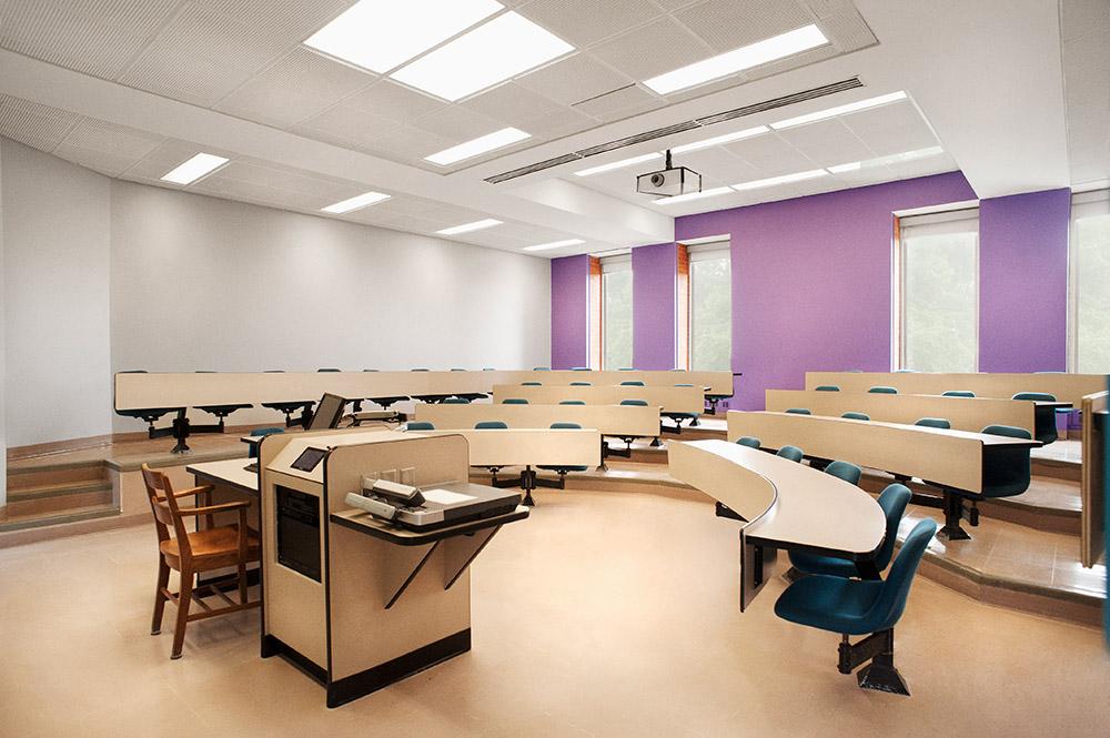 Classroom at Bishop's
